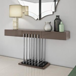 Spania Two Drawer Console Table