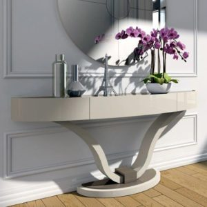 Valent Three Drawer Console Table