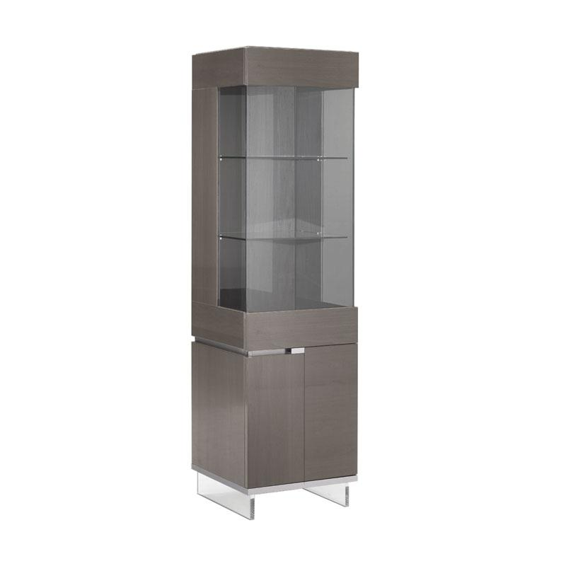 Athens 1 Door Display Cabinet - Right Side
