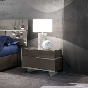 Athens Bedside Table - Right Side