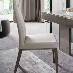 Athens Eco-Leather Dining Chairs x2