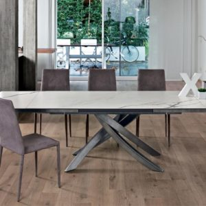 Aristo Extendable 12 Seat Dining Table