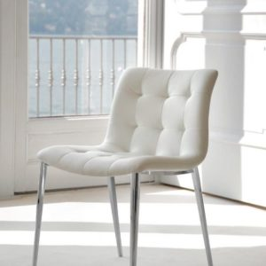 Kuga Eco-Leather Desk Chair with Metal Frame