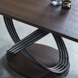 Frusia Extendable Wood Dining Table