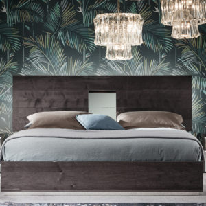 Heart King Bed