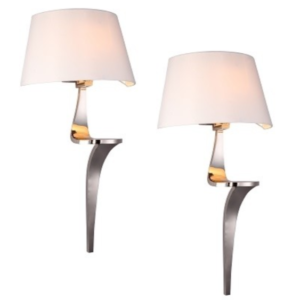 Jeano Pair of Wall Lamps
