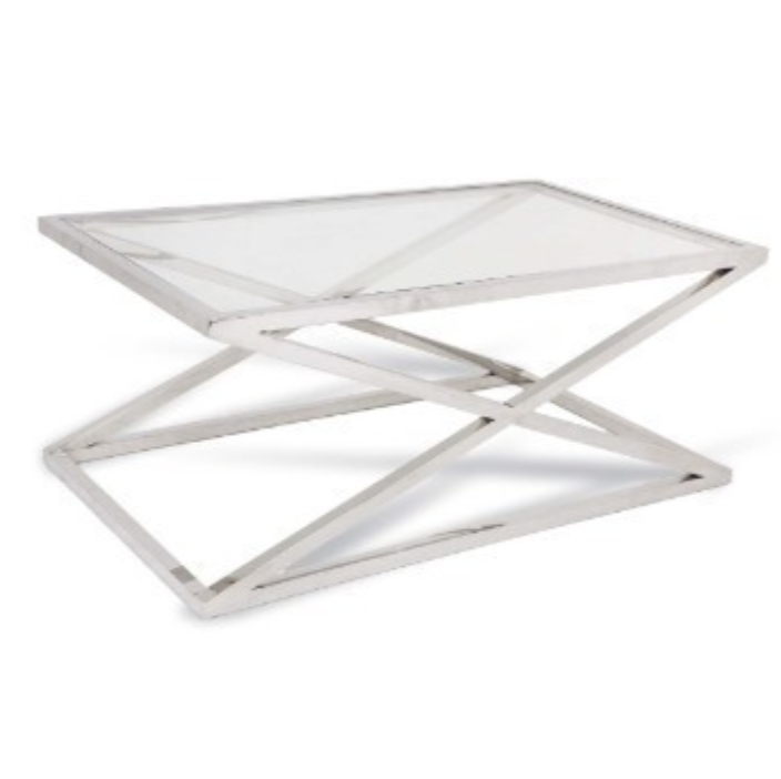 Smithy Stainless Steel Coffee Table