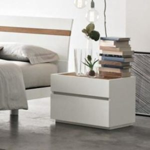 Selecta 2 Drawer Bedside Table